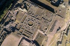 Vista aérea de Sacsaywaman - Cusco