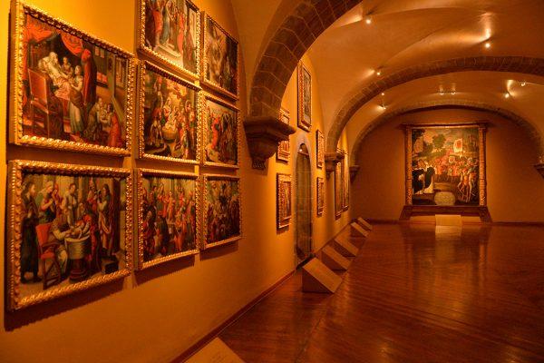 Galería de Arte de la Iglesia Santo Domingo - Cusco