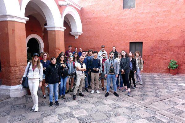 Visitando el Monasterio de Santa Catalina - Arequipa