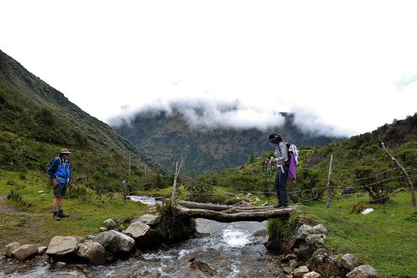 Caminata hacia Choquequirao