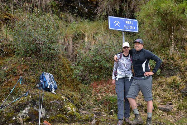 Ruta de Choquequirao hacia Machu Picchu